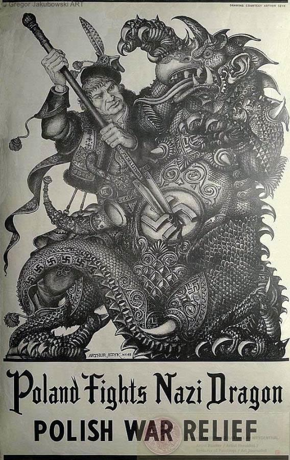 Artur SZYK - One Man Army Against Hitler