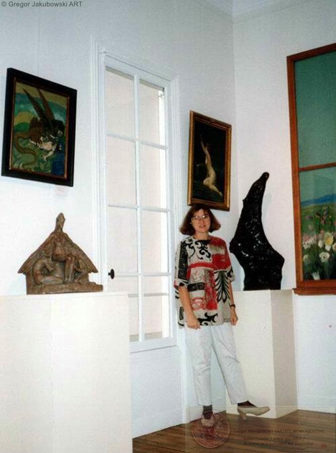 MUSEUM EXHIBITIONS : Boleslas Biegas Museum in 1994, Bibliotheque Polonaise de Paris