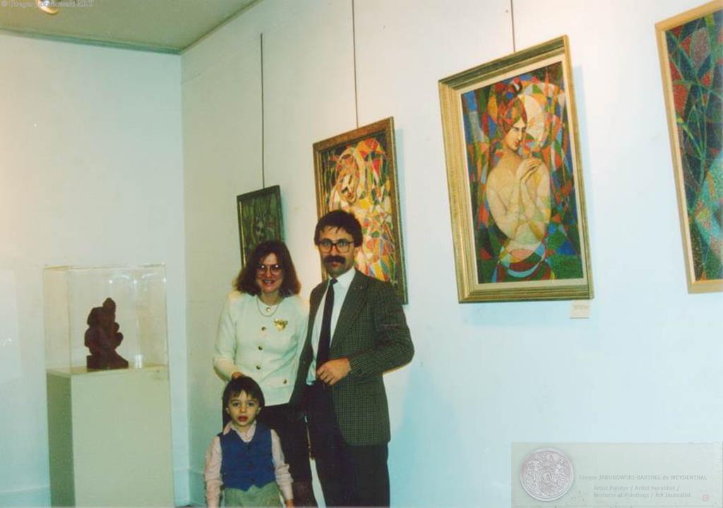 Musee Boleslas Biegas inauguration 1994