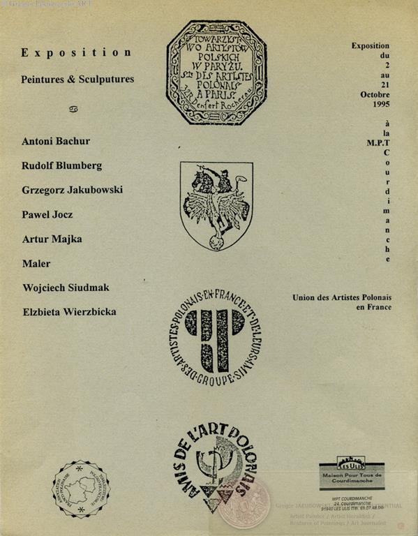 Union des Artistes Polonais en France, Les Ulis, 1995