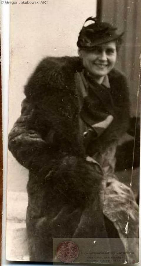 Aldona Jakubowska 1938