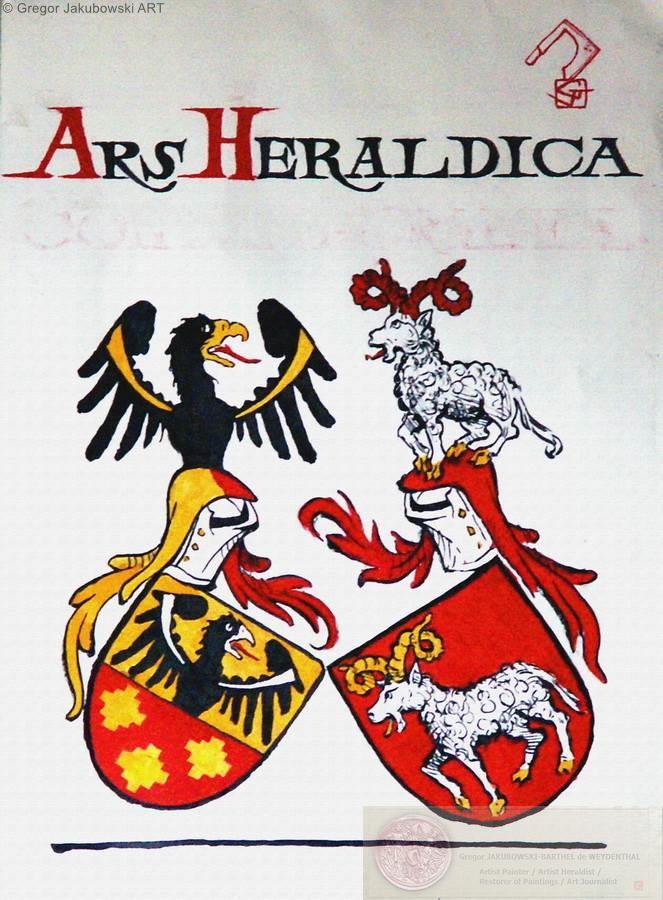 ARS HERALDICA, KRAKOW, PTHER, 1995