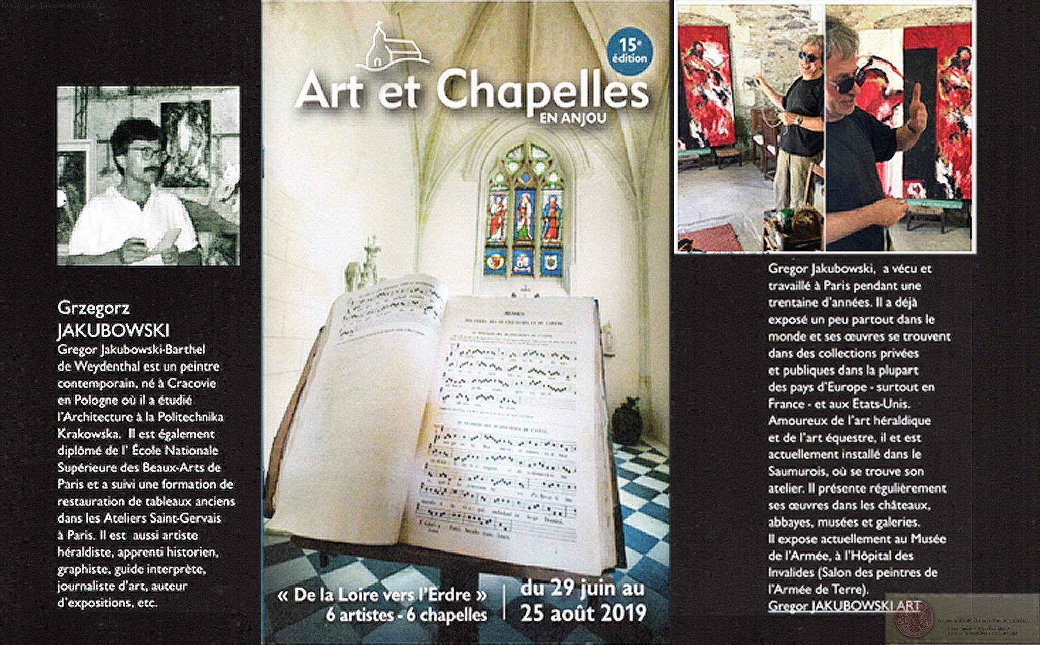 Grzegorz Jakubowski Art Chapelles 2019