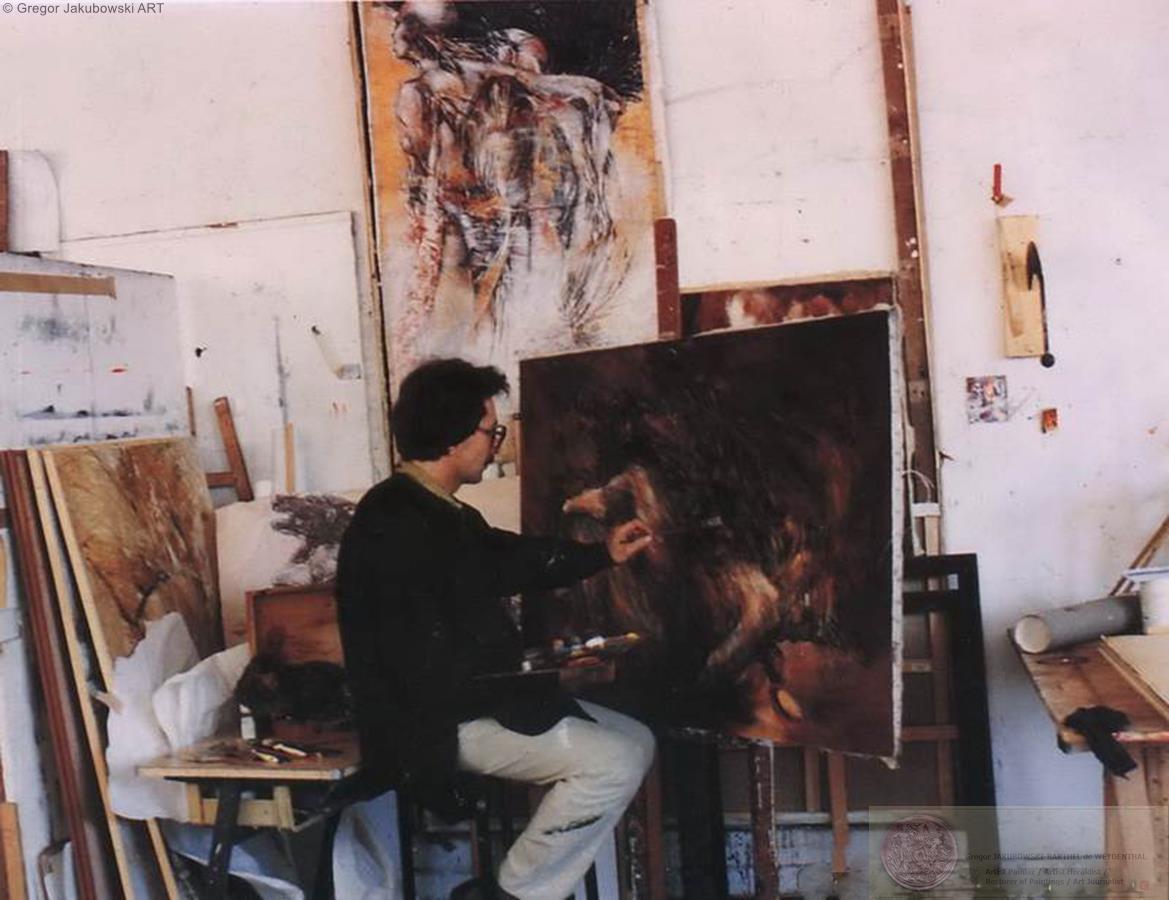 Gregor JAKUBOWSKI on BEAUX-ARTS, PARIS