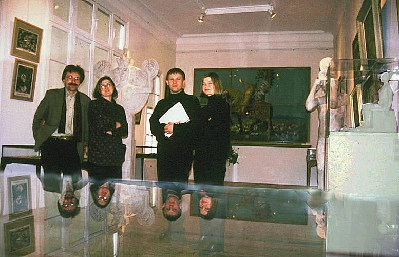 MUSEUM EXHIBITIONS : Boleslas Biegas Museum in 1997, Bibliotheque Polonaise de Paris