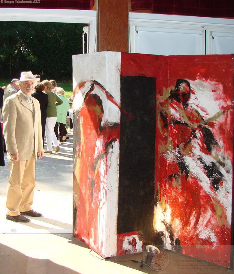 Paravents de Daniel Couturier, Barbizon 2008