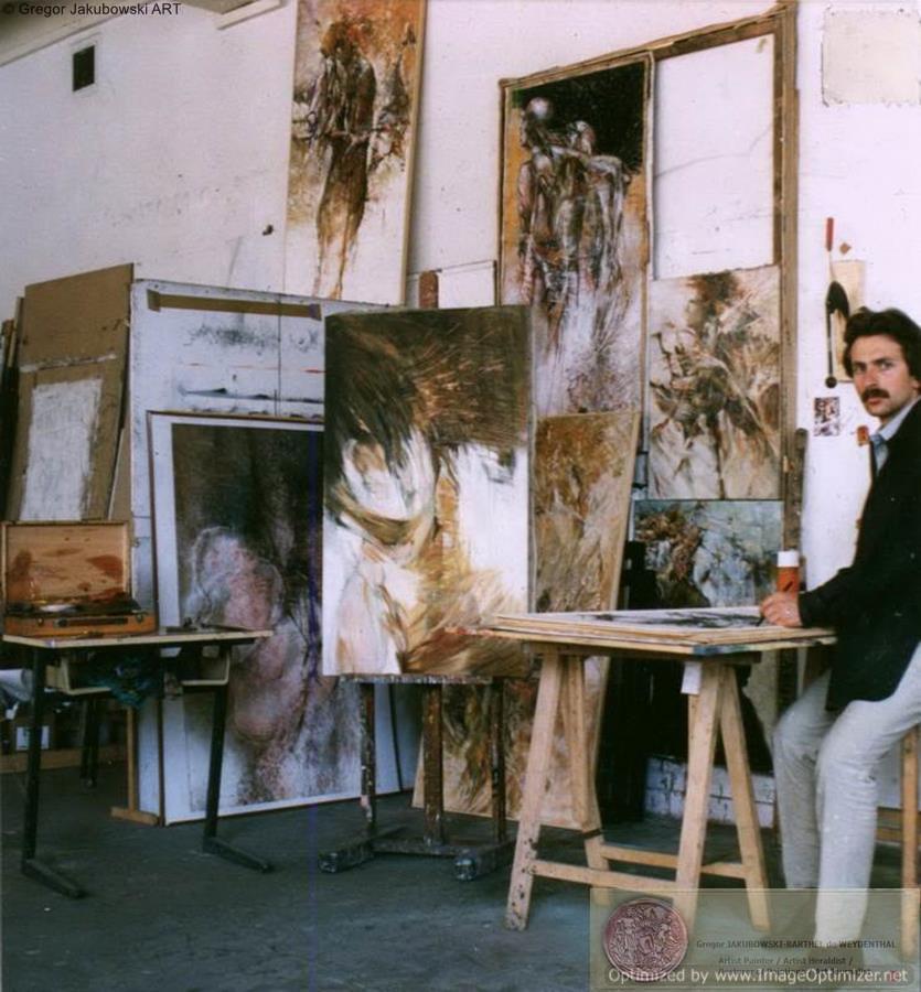 Gregor Jakubowski, Beaux-Arts, Paris, 1988