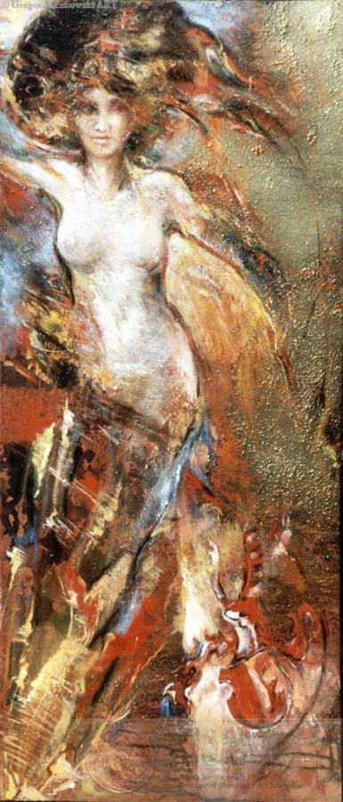 C.V. & CARYATHIDES paintings