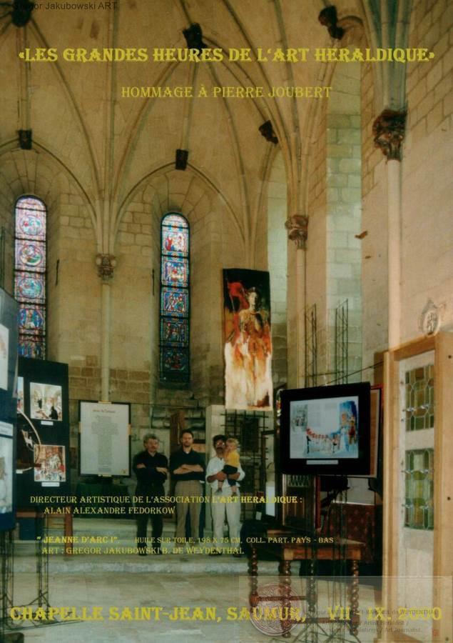 Chapelle Saint-Jean, Saumur, 2000