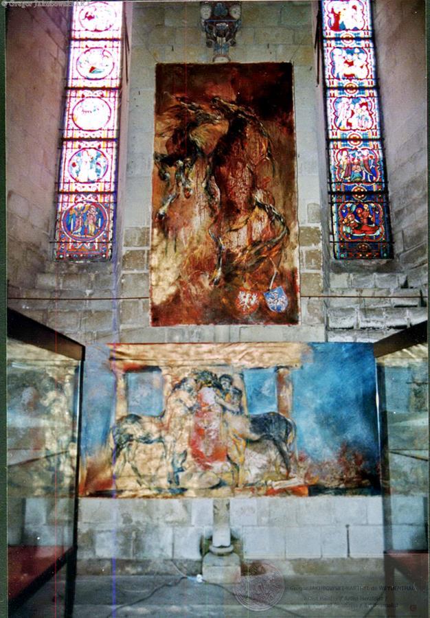 Elan & Monument, 146x300 cm