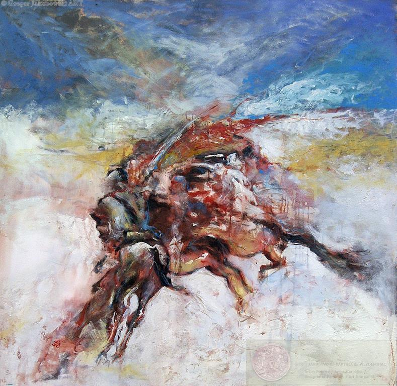Charge _ EQUUS Paintings