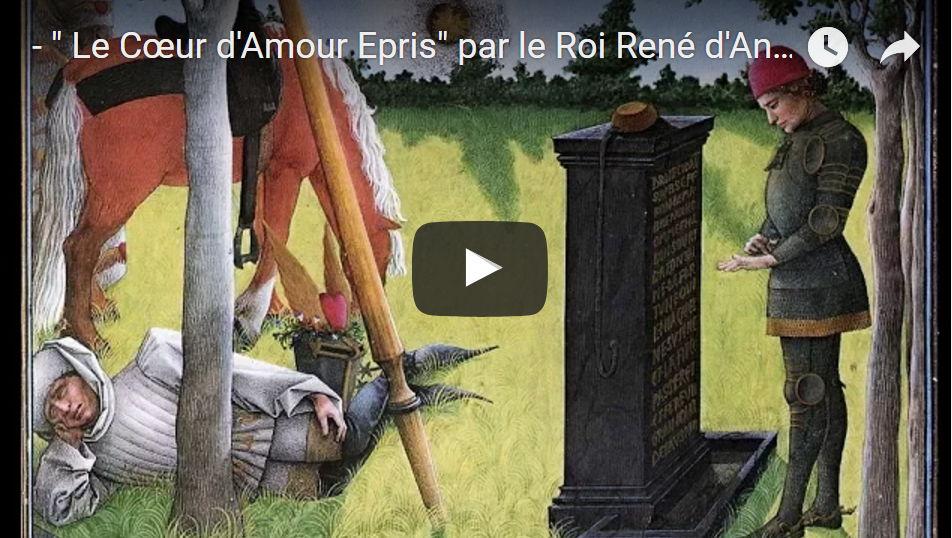 Gregor Jakubowski, Roi Rene, Coeur d'Amour Epris, Manoir de Launay, 2017
