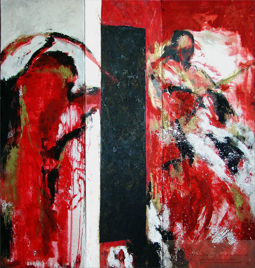 GJ COMBATS /FIGHTING/ paintings