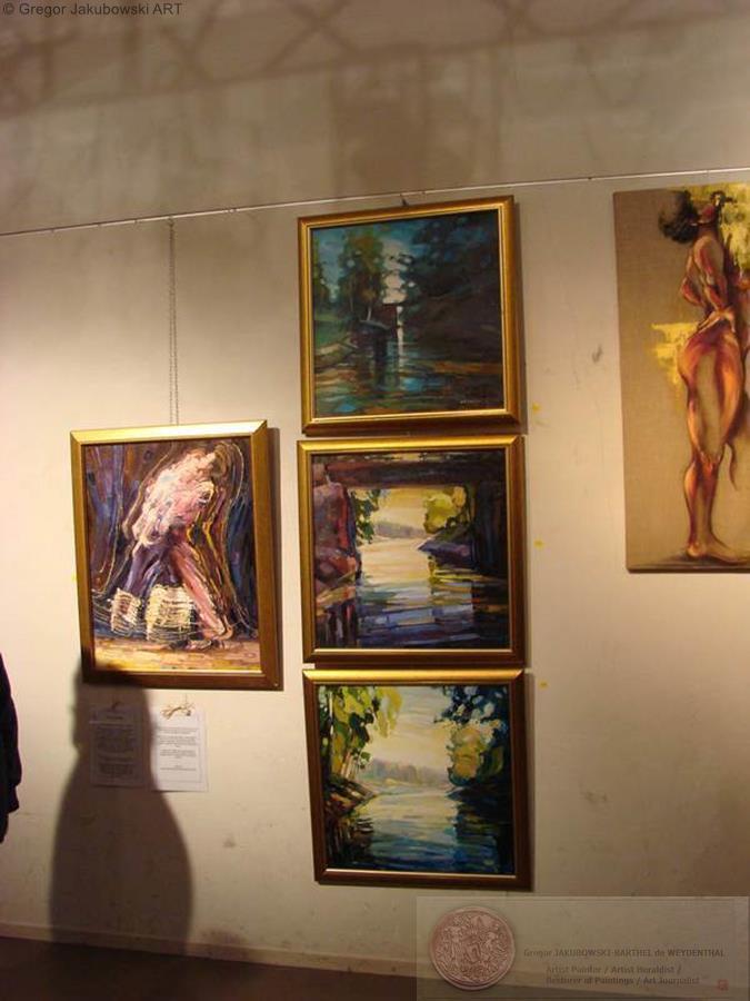 Ewa Maslowska, 2eme Salon l'ART a COUPVRAY, 29-30 XI 2008