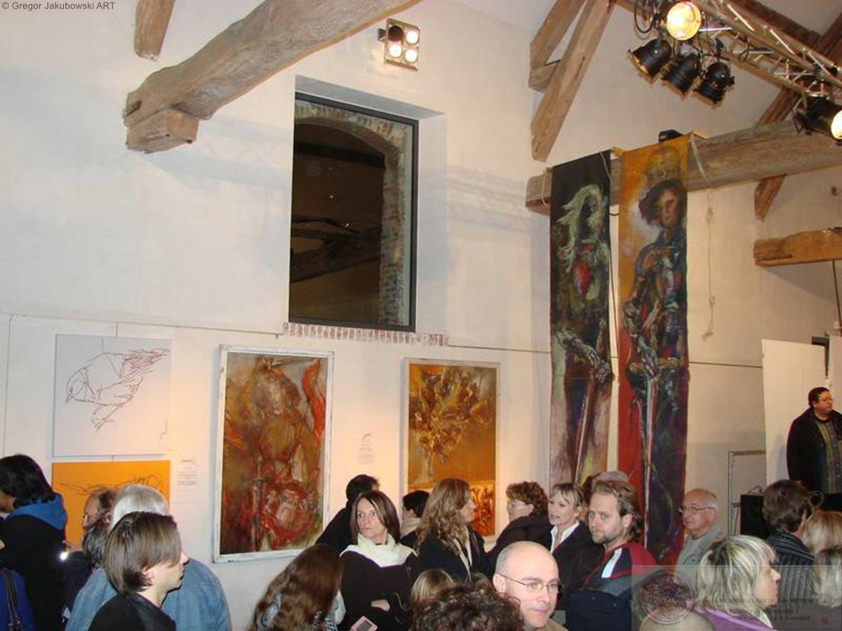 Gregor Jakubowski, 2eme Salon l'ART a COUPVRAY, 29-30 XI 2008