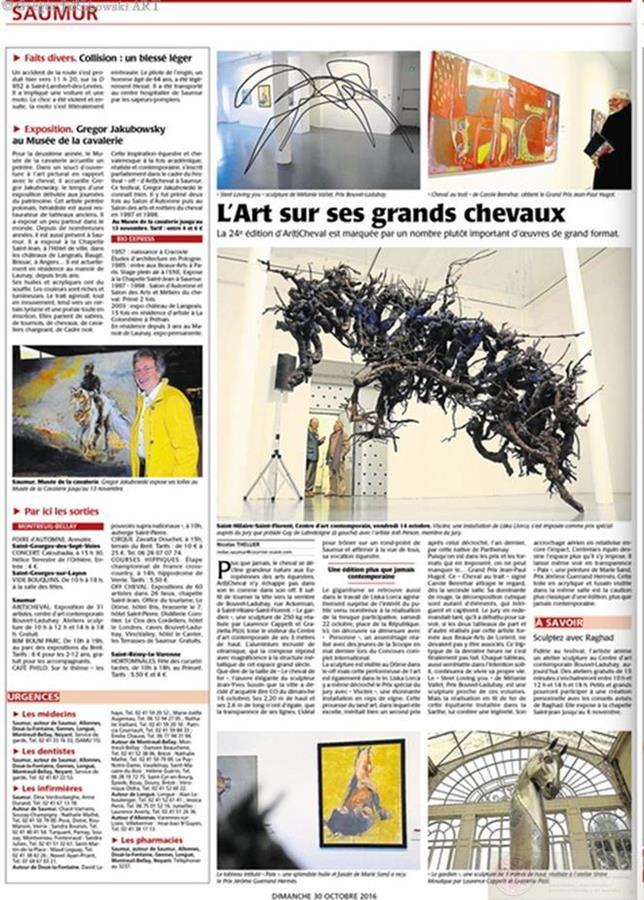 Musee de la Cavalerie Courrier_ArtCheval_2016