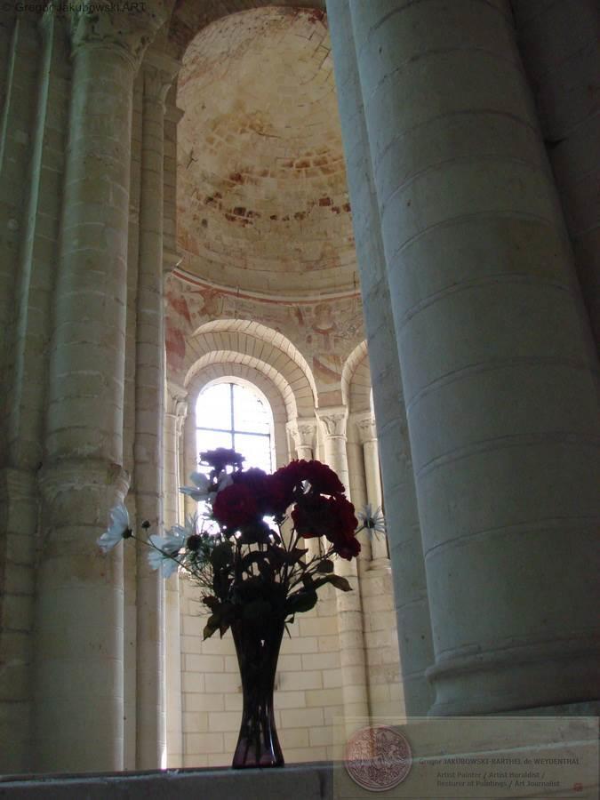 Eglise de Cunault, Anjou, 14.07.2011