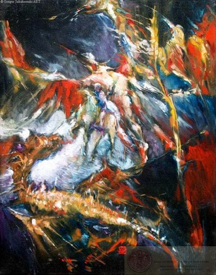 DEEPNESS III Painting