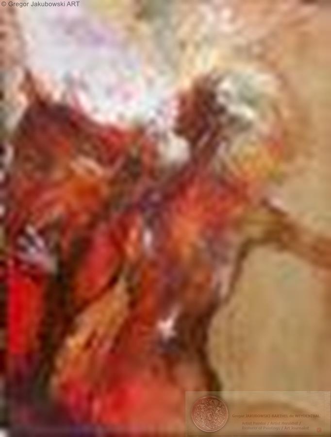 DIANE, oil, 130x98 cm