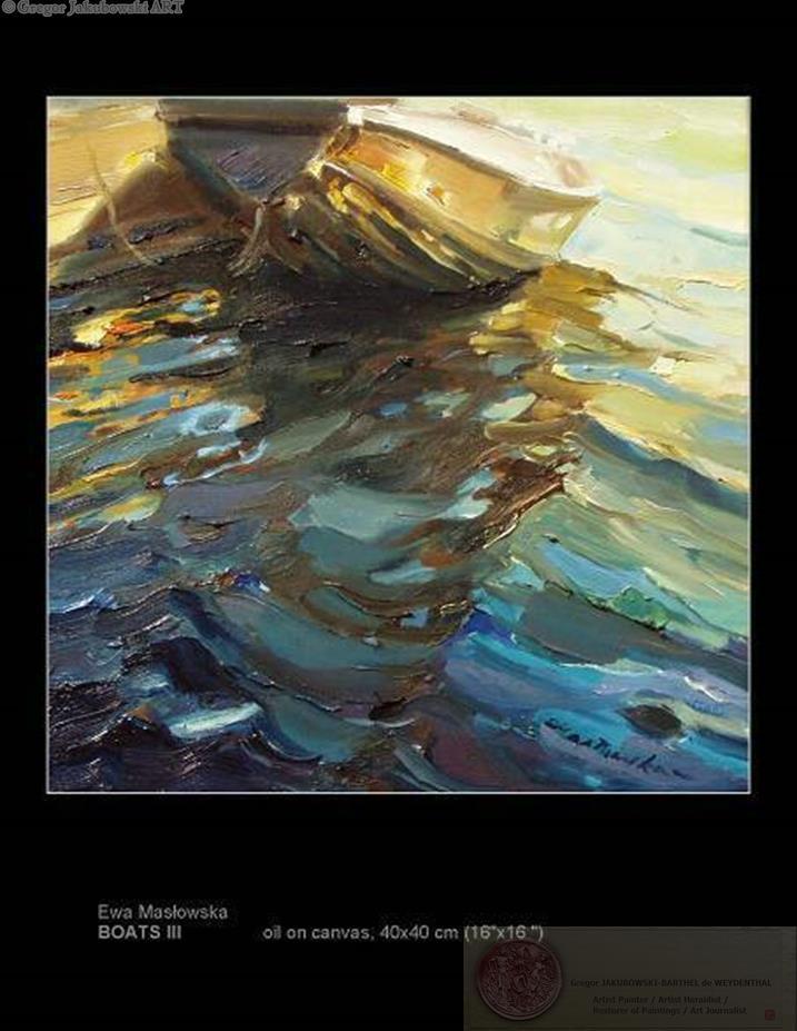 Ewa Maslowska BOAT Paintings