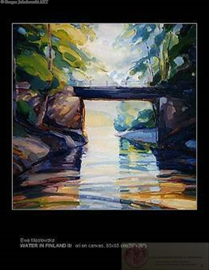Ewa Maslowska CANALS Paintings