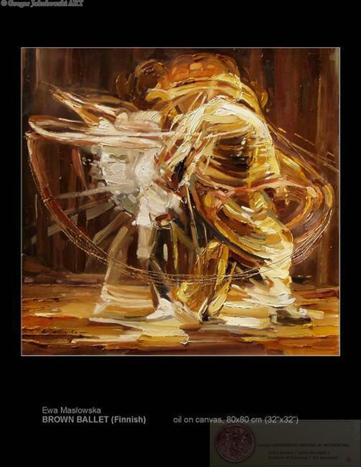 Ewa Maslowska BALLET paintings
