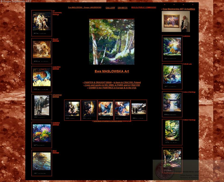 Ewa MASLOWSKA ART website