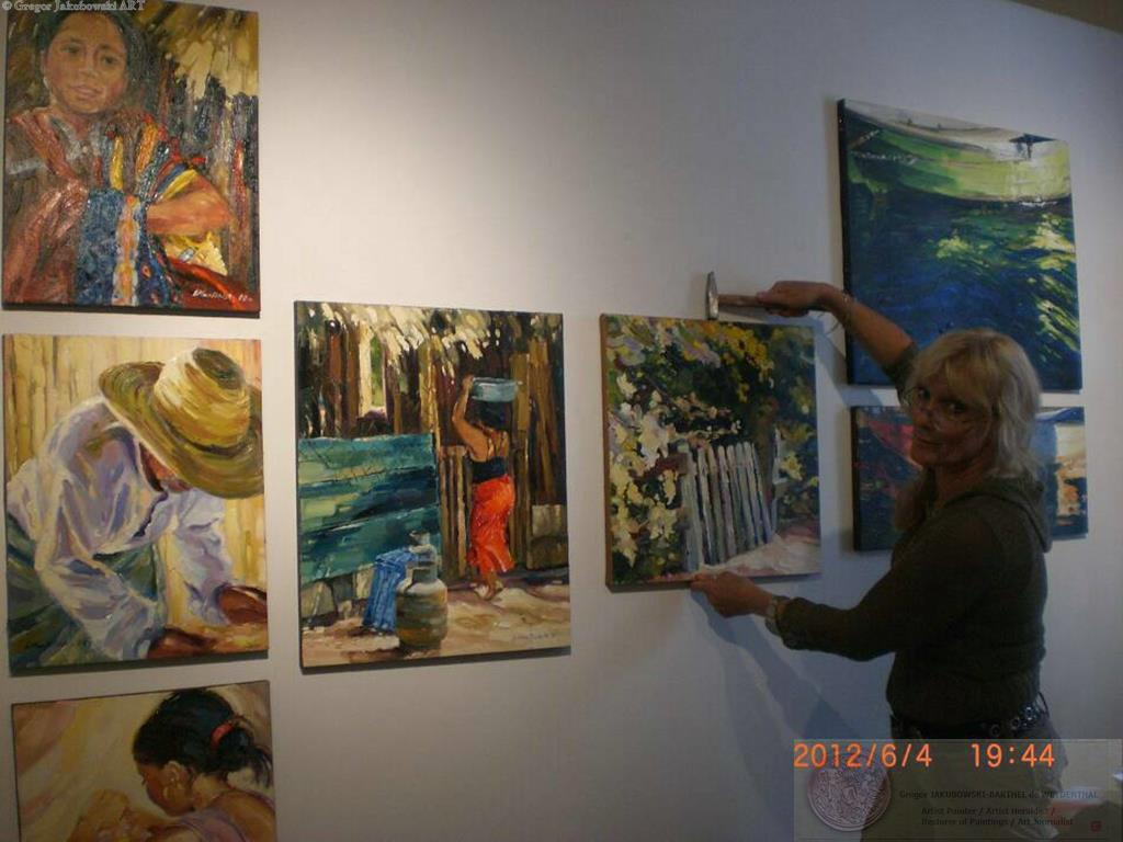 Ewa Maslowska, Contemporary Art Show ANTIDOTE, New Century Artists Gallery, Chelsea, NEW YORK, 2012