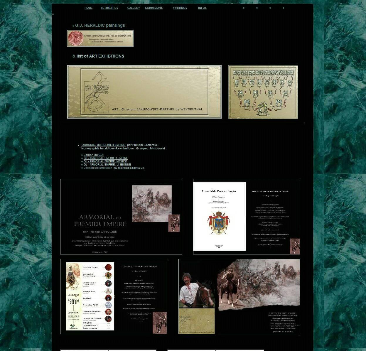 Gregor JAKUBOWSKI ART website