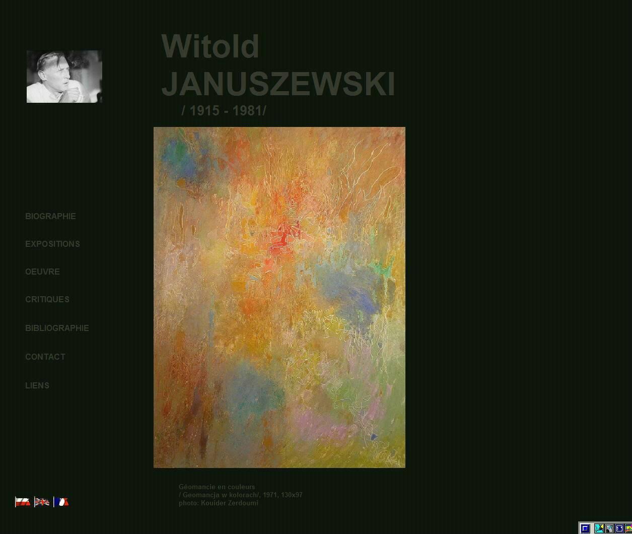 Witold JANUSZEWSKI website