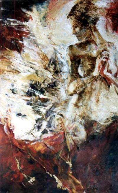 EVE, oil 116x73 cm