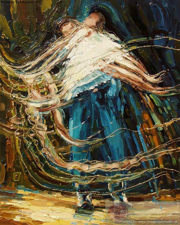 Ewa_Maslowska_Finnish Ballet -32x34-inch-oil
