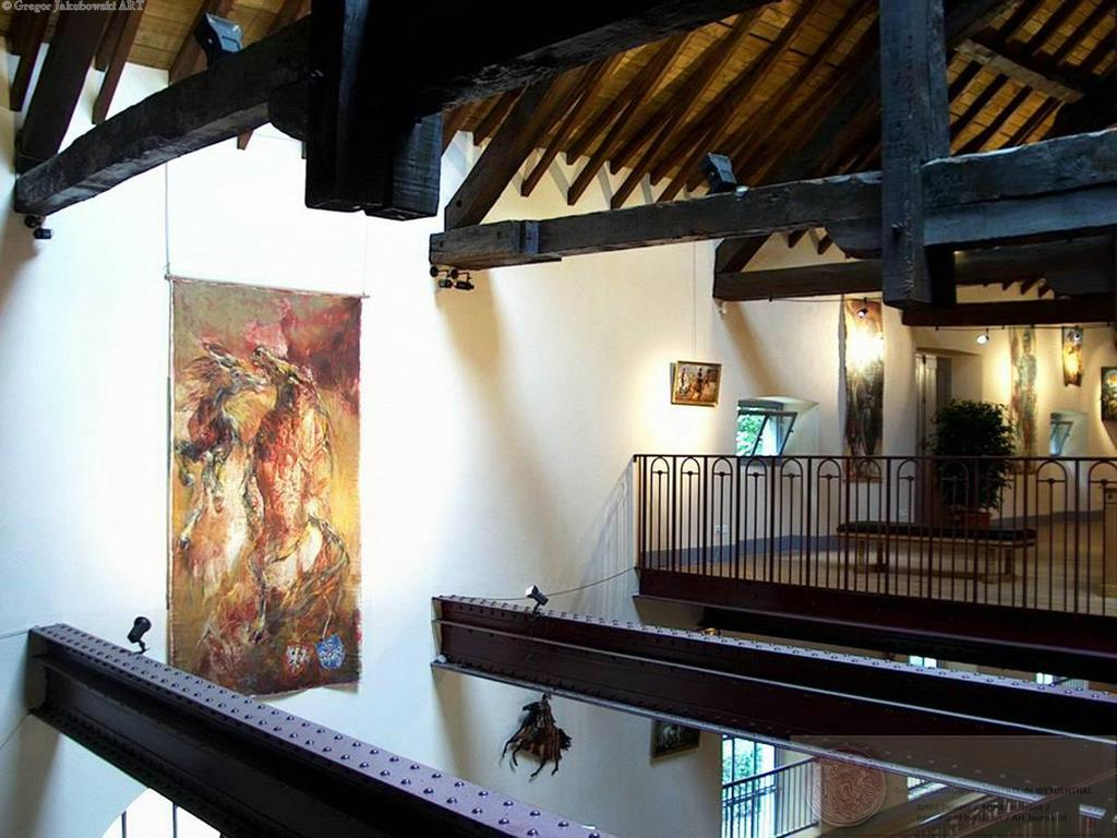 ELAN, oil on canvas, 300 x 148 cm (118 x 58 ), Maison du Cheval, Tarbes, Pyrenees