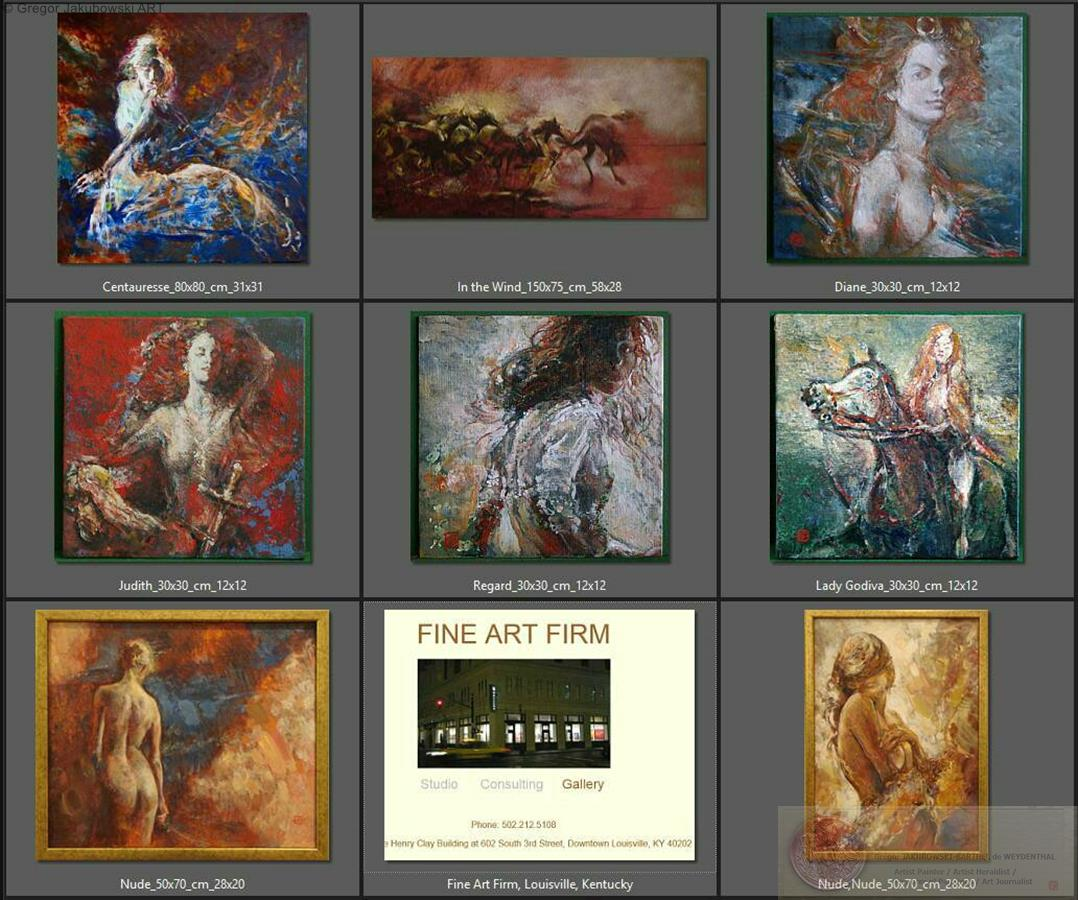 Gregor Jakubowski - Fine Art Firm, Louisville, Kentucky, USA