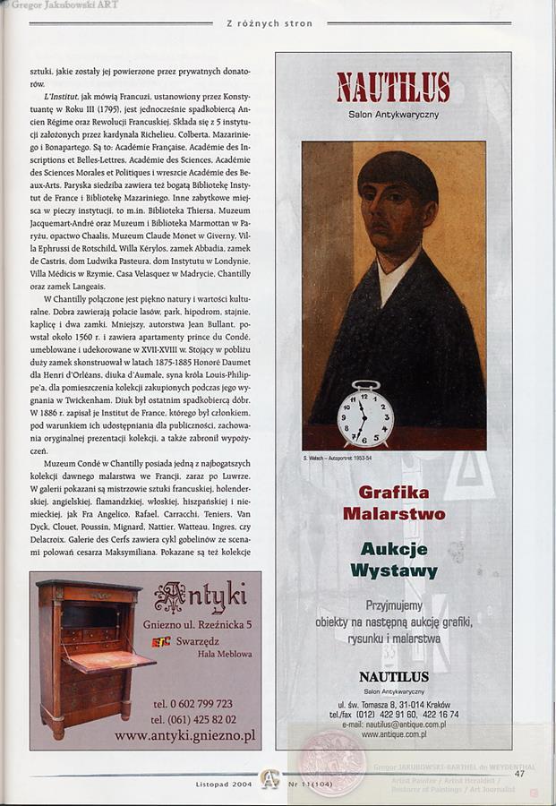 GJ ARTICLES : CHANTILLY