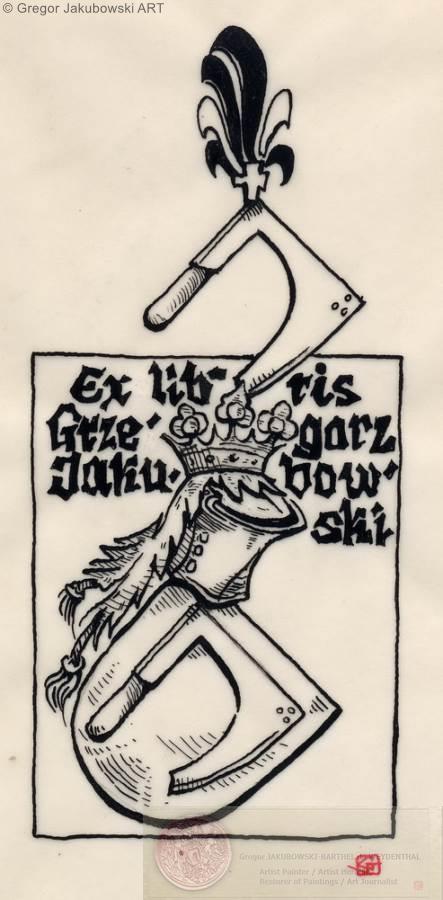 TOPOR - STARZA, coats of arms by Gregor Jakubowski
