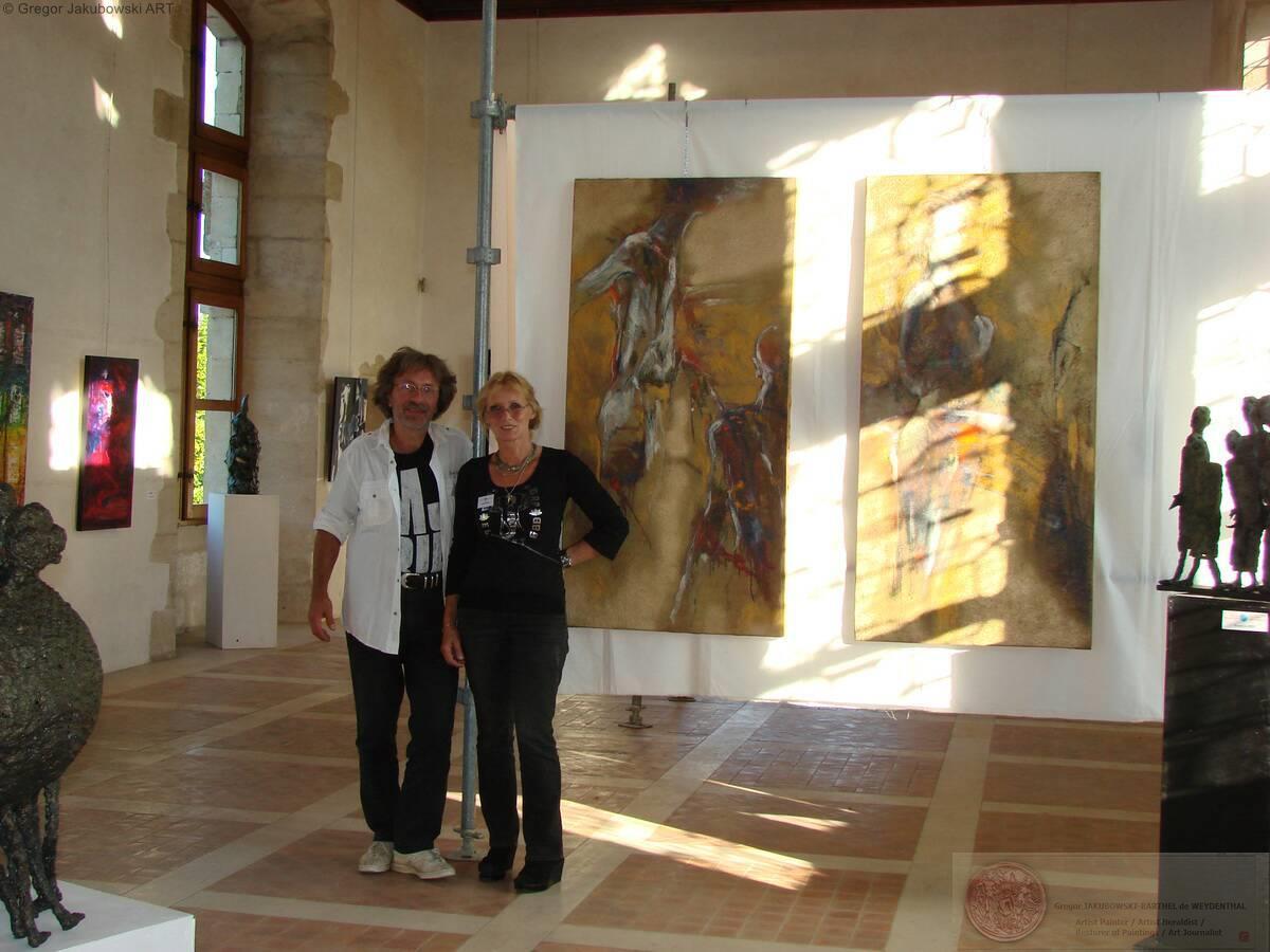 Ewa Maslowska & Gregor Jakubowski, Nouvelles Metamorphoses, La-Mothe-Saint-Heray_2011