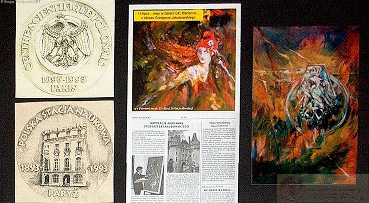 GJ Projet de la Medaille Station Scientifique Polonaise, PARIS, 1993