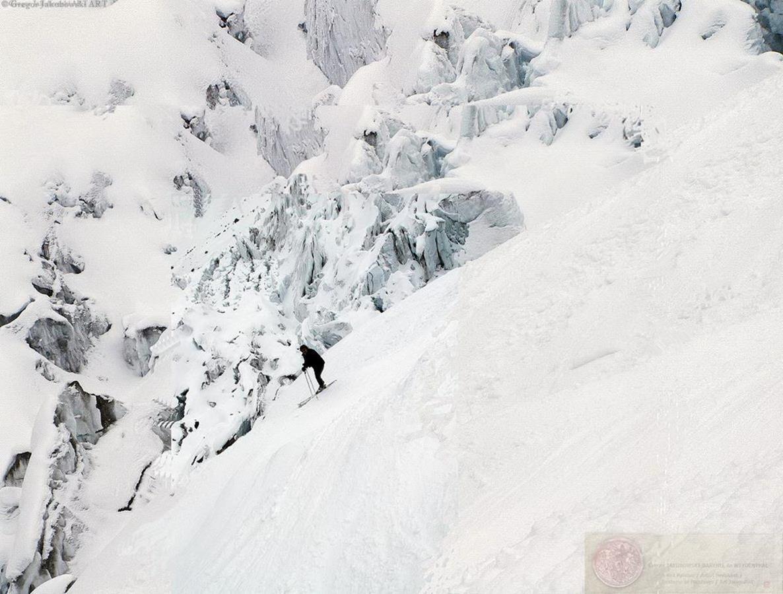 Alps Glacier Argentiere