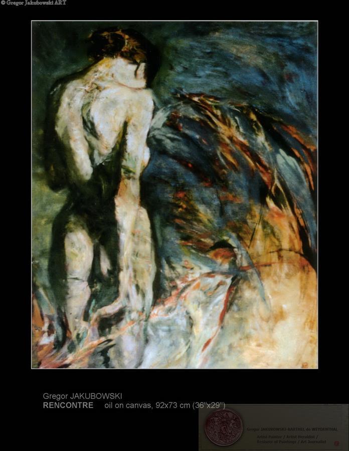 RENCONTRE - PAINTINGS by Gregor Jakubowski (download pdf