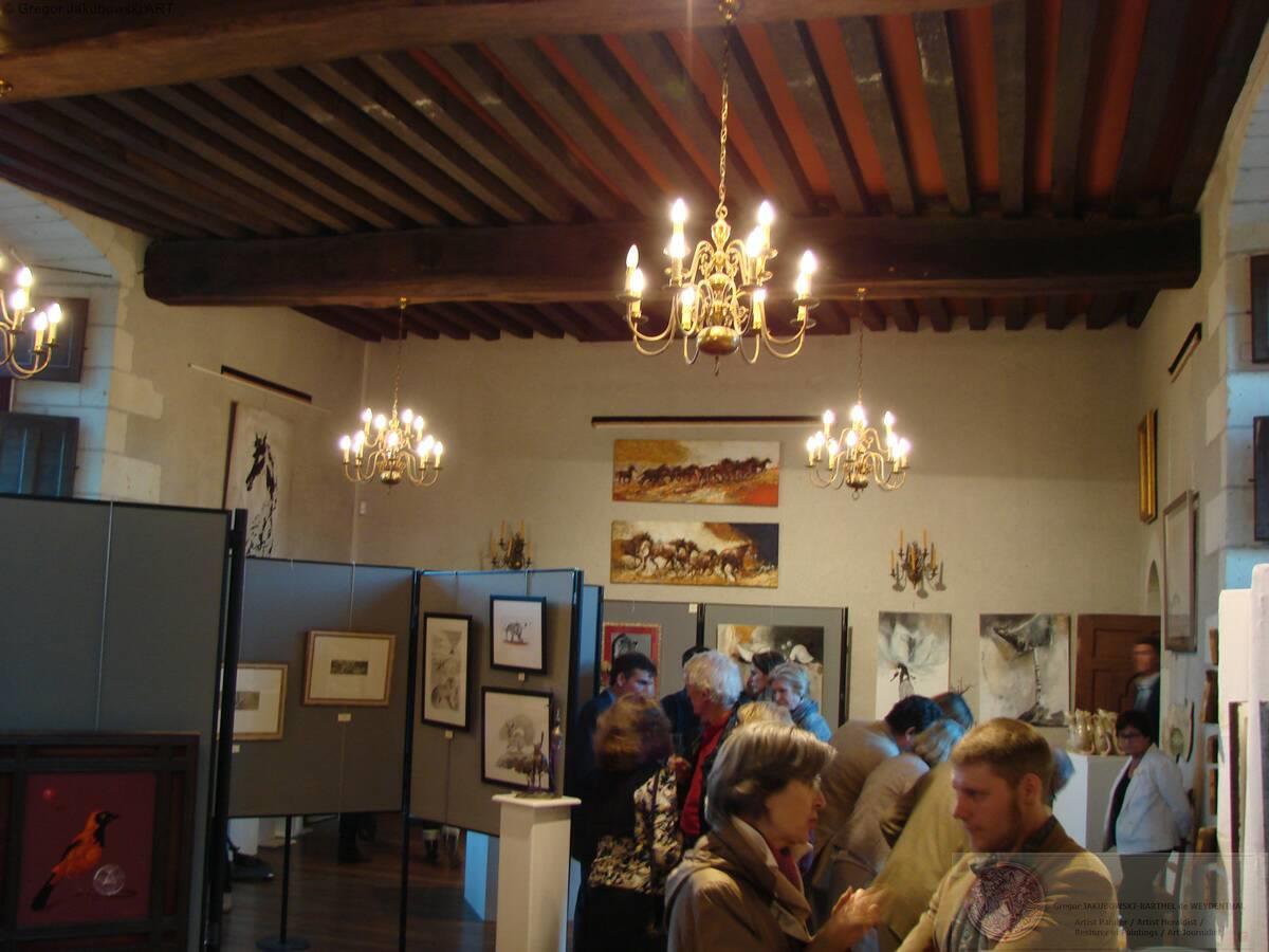 Gregor Jakubowski - ArAnima, chateau de GOULAINE, 13-30.VI.2013