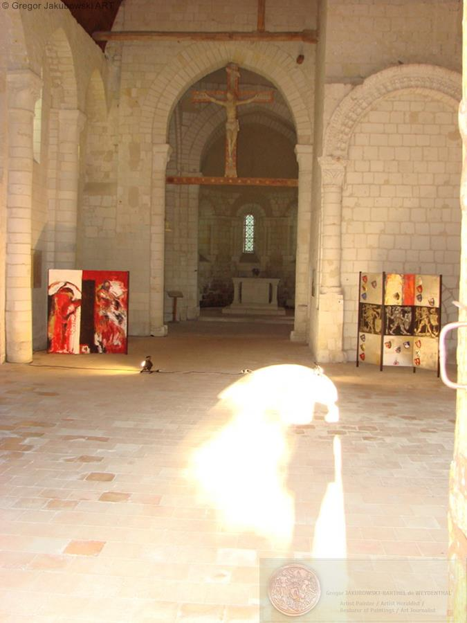 Eglise de Treves, Anjou, 2010