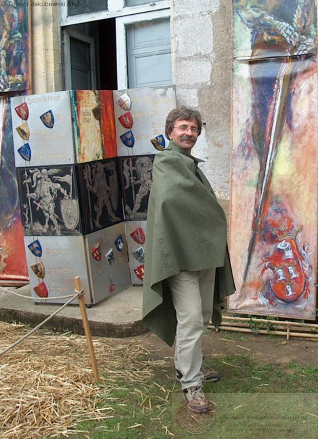 Gregor Jakubowskim le paravent et les Oriflames, les Neuf Preux, 2011