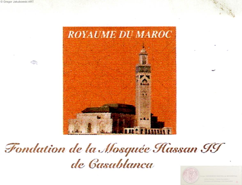 Mediatheque de la Fondation Hassan II CASABLANCA
