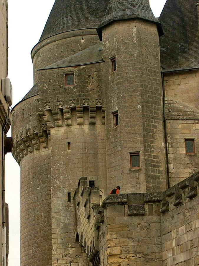 Les NEUF PREUX /The NINE WORTHIES/ Gregor JAKUBOWSKI, chateau de LANGEAIS