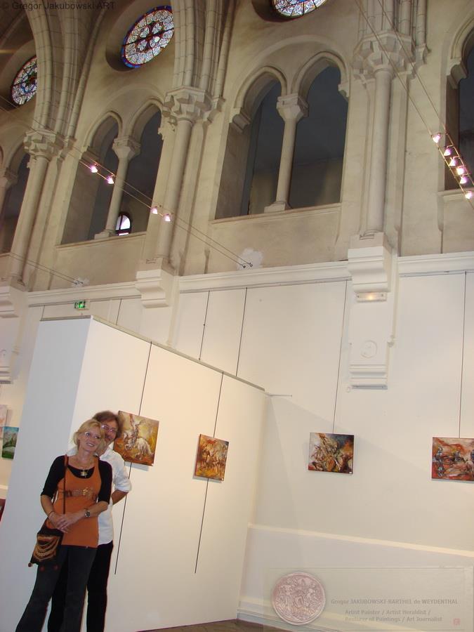Lavaur Medievales, Invite d'Honneur Gregor Jakubowski, Chapelle de la Mediatheque Guiraude de Laurac, LAVAUR