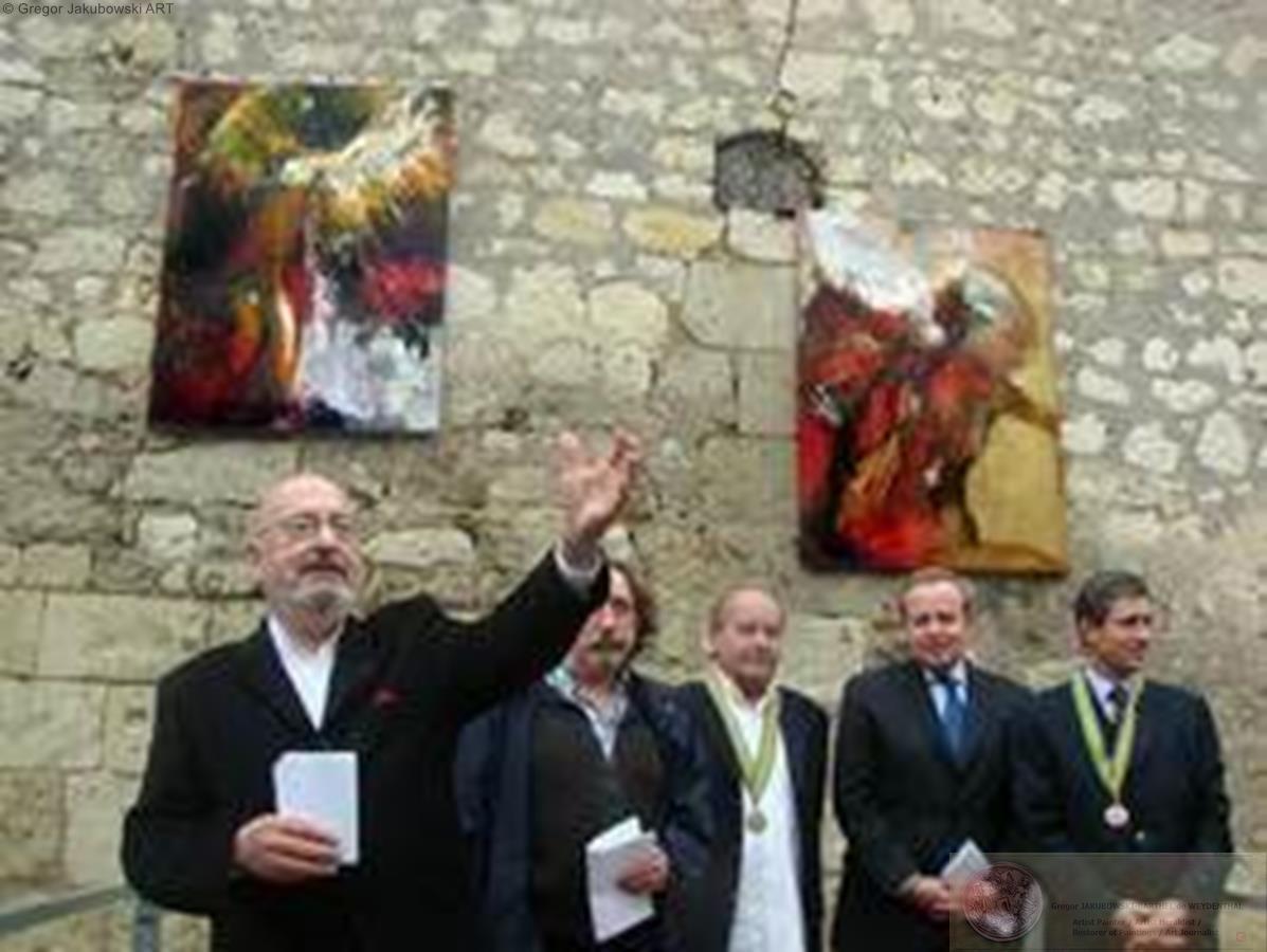 Espace Jean Carmet, Maison des Vins, Bourgueil Inauguration avec le Ministre de la Culture