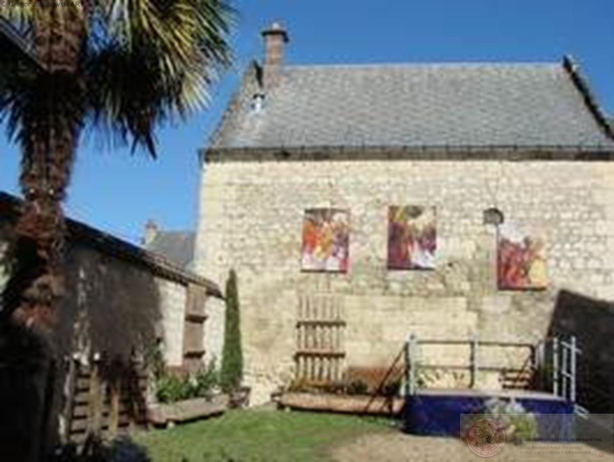 Espace Jean Carmet, Maison des Vins, cour Bourgueil