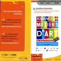 Les Journees des METIERS d'ART, 2008