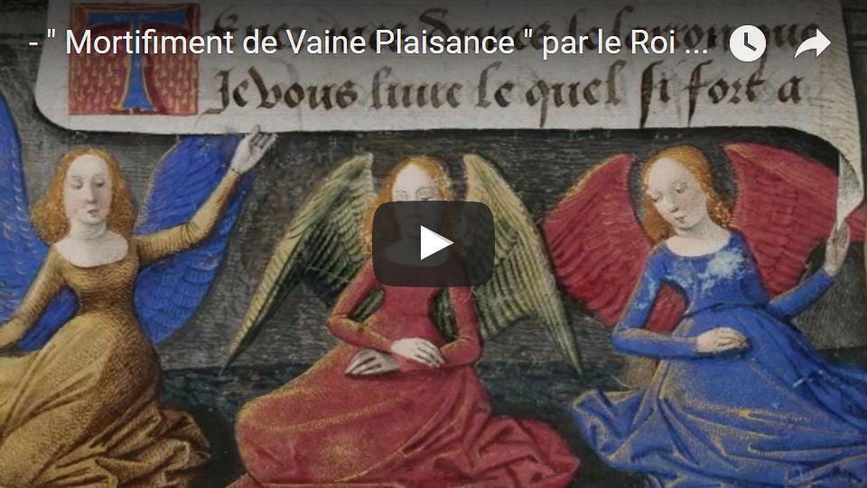 Roi Rene, , Mortifiement de Vaine PlaisanceManoir de Launay, 2017